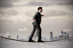 σχοινί επιχειρηματιών Στοκ φωτογραφία με δικαίωμα ελεύθερης χρήσης