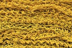 Σχοινί κίτρινο στοκ φωτογραφία με δικαίωμα ελεύθερης χρήσης