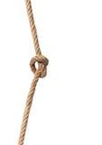 Σχοινί με την καλημάνα Στοκ φωτογραφία με δικαίωμα ελεύθερης χρήσης