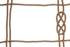 σχοινί πλαισίων Στοκ φωτογραφίες με δικαίωμα ελεύθερης χρήσης