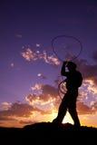 σχοινί που ταλαντεύεται  Στοκ Φωτογραφία