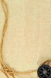 σχοινί πυξίδων Στοκ Εικόνα