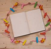 Σχοινί σημειωματάριων Στοκ Φωτογραφίες