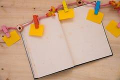 Σχοινί σημειωματάριων Στοκ εικόνα με δικαίωμα ελεύθερης χρήσης