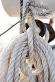 Σχοινί σκαφών Στοκ φωτογραφία με δικαίωμα ελεύθερης χρήσης