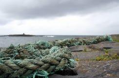 σχοινί της Ιρλανδίας doolin πο&ups Στοκ εικόνα με δικαίωμα ελεύθερης χρήσης