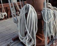 Σχοινί του παλαιού γαλονιού Στοκ εικόνες με δικαίωμα ελεύθερης χρήσης