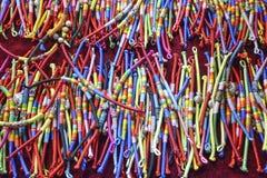 Σχοινί χεριών με τα διαφορετικά χρώματα Στοκ Φωτογραφία