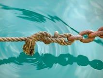 σχοινί 2 αλυσίδων Στοκ Φωτογραφίες