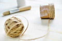 Σχοινί DIY Στοκ φωτογραφία με δικαίωμα ελεύθερης χρήσης