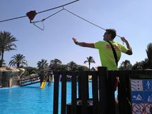 Σχοινί Lifeguard Στοκ Φωτογραφίες