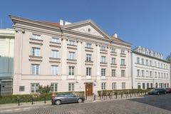 Σχολή των οικονομικών επιστημών, πανεπιστήμιο της Βαρσοβίας στοκ εικόνα με δικαίωμα ελεύθερης χρήσης