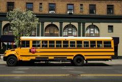 σχολείο διαδρόμων κίτρινο Στοκ Φωτογραφία