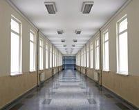 σχολείο διαδρόμων Στοκ φωτογραφία με δικαίωμα ελεύθερης χρήσης