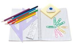 σχολείο εξαρτημάτων Στοκ Φωτογραφία