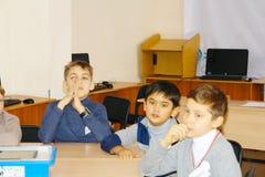 σχολείο κατσικιών κλάσης Στοκ φωτογραφία με δικαίωμα ελεύθερης χρήσης