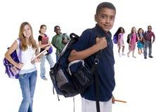 σχολείο κατσικιών ποικιλομορφίας στοκ εικόνα με δικαίωμα ελεύθερης χρήσης