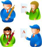 σχολείο κατσικιών Στοκ εικόνα με δικαίωμα ελεύθερης χρήσης