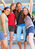 σχολείο κοριτσιών Στοκ φωτογραφία με δικαίωμα ελεύθερης χρήσης