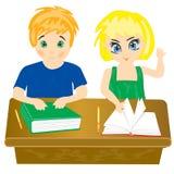σχολείο παιδιών διανυσματική απεικόνιση