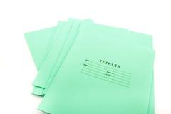 σχολείο σημειωματάριων Στοκ εικόνες με δικαίωμα ελεύθερης χρήσης