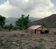σχολείο του Αφγανιστάν Στοκ Εικόνα