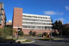 Σχολείο του Henry Samueli του κτηρίου εφαρμοσμένης μηχανικής στο Πανεπιστήμιο της Καλιφόρνιας Λος Άντζελες, UCLA στοκ εικόνα