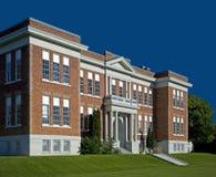 Σχολείο τούβλου Στοκ εικόνες με δικαίωμα ελεύθερης χρήσης