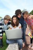 σχολείο υπολογιστών Στοκ Φωτογραφία
