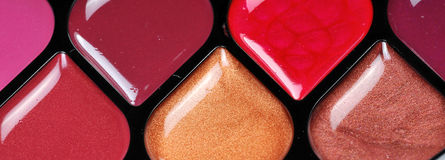 σχολιάστε το χείλι makeup Στοκ εικόνα με δικαίωμα ελεύθερης χρήσης