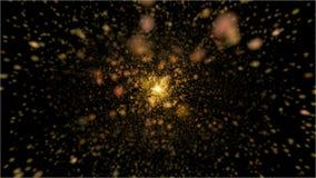 Σχολιάστε το χρυσό αστέρι έκρηξης στοκ φωτογραφία με δικαίωμα ελεύθερης χρήσης