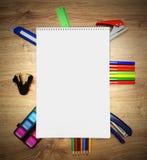 Σχολικά εξαρτήματα. Στοκ Εικόνες