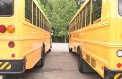 Σχολικά λεωφορεία Στοκ εικόνα με δικαίωμα ελεύθερης χρήσης