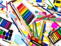 σχολικές προμήθειες αν&al στοκ εικόνες με δικαίωμα ελεύθερης χρήσης