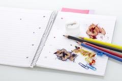 σχολικές προμήθειες γρ&al Στοκ εικόνες με δικαίωμα ελεύθερης χρήσης