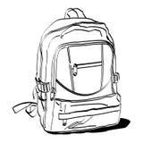 Σχολική τσάντα Στοκ Εικόνες