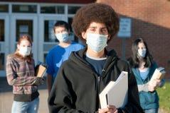 σχολικοί χοίροι γρίπης Στοκ φωτογραφίες με δικαίωμα ελεύθερης χρήσης