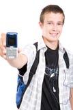 σχολικός έφηβος Στοκ φωτογραφία με δικαίωμα ελεύθερης χρήσης