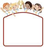 σχολικός αθλητισμός παι& Στοκ εικόνα με δικαίωμα ελεύθερης χρήσης