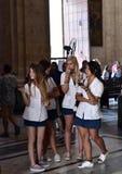 Σχολικό κορίτσι από την Κούβα Στοκ φωτογραφία με δικαίωμα ελεύθερης χρήσης
