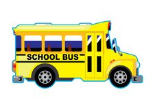 Σχολικό λεωφορείο διανυσματική απεικόνιση