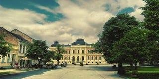 Σχολή σε Sremski Karlovci Στοκ φωτογραφίες με δικαίωμα ελεύθερης χρήσης