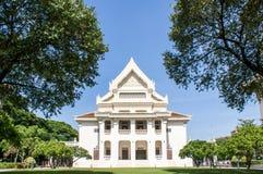 Σχολή των τεχνών, πανεπιστημιακό κτήριο Chulalongkorn Στοκ Εικόνα
