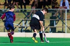 Σχολεία του Clifton παικτών χόκεϋ που παίζουν Astro Στοκ Εικόνες