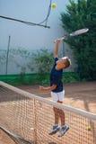 Σχολείο αντισφαίρισης Στοκ φωτογραφία με δικαίωμα ελεύθερης χρήσης
