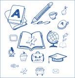 Σχολείο εικονιδίων Στοκ Εικόνα