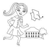 Σχολείο κόλπων κόλπων διανυσματική απεικόνιση