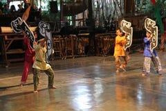 Σχολείο μουσικής πακέτων Ujo Angklung σε Bandung Στοκ φωτογραφία με δικαίωμα ελεύθερης χρήσης