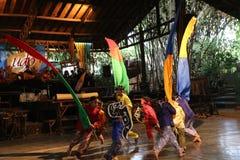 Σχολείο μουσικής πακέτων Ujo Angklung σε Bandung Στοκ εικόνα με δικαίωμα ελεύθερης χρήσης