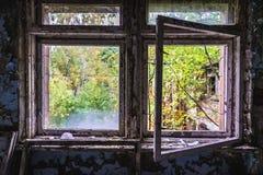 Σχολείο σε Pripyat Στοκ Εικόνες